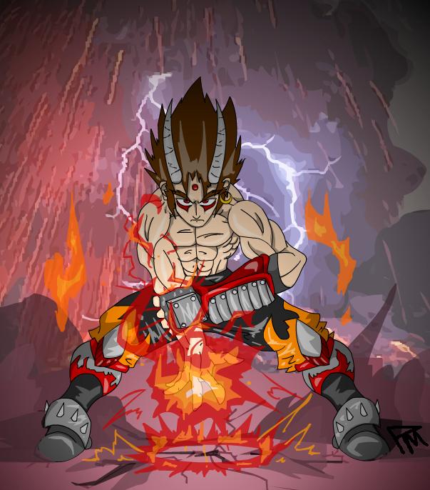 Volcanic Demon: Darkstar