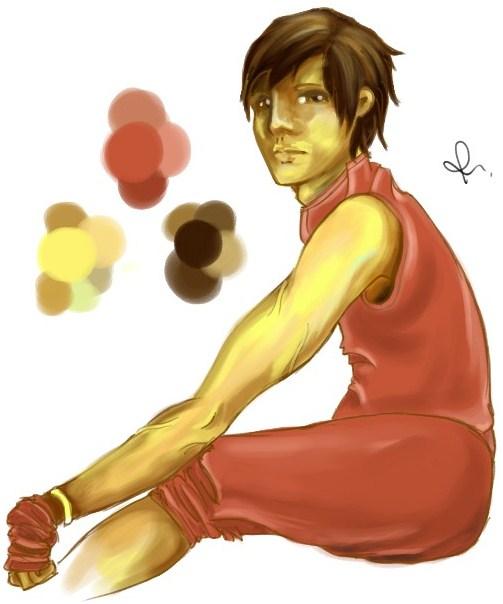 Joss - Character Concept Art