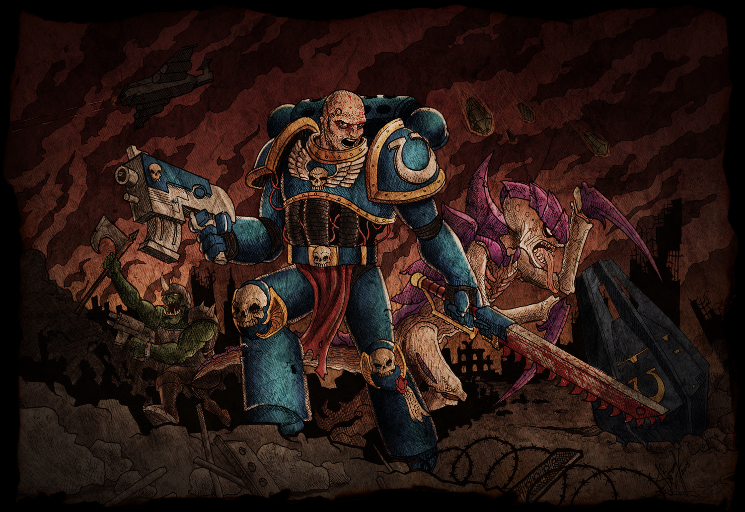 For the Emperor! Warhammer 40k