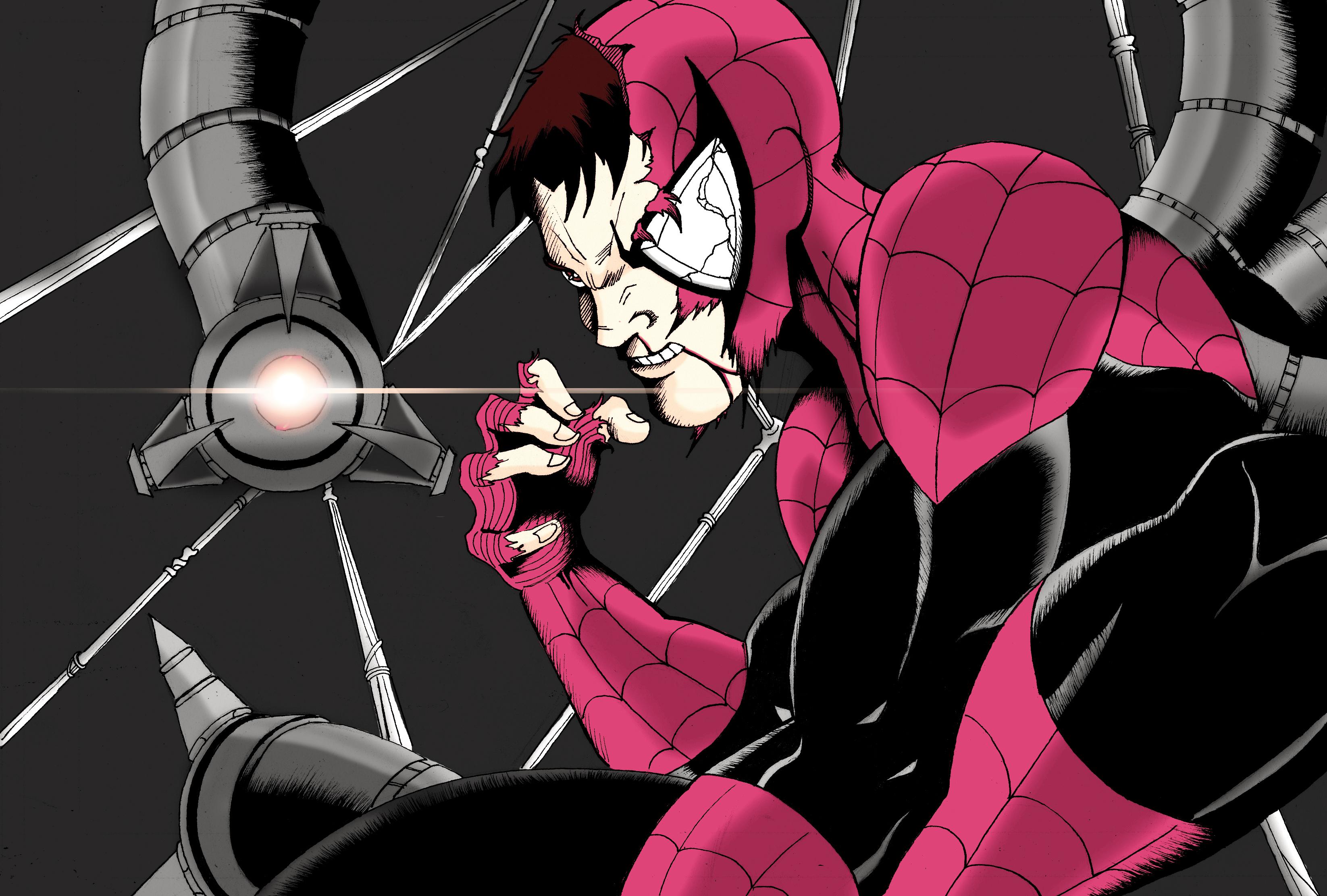 Battle Damaged Superior Spider