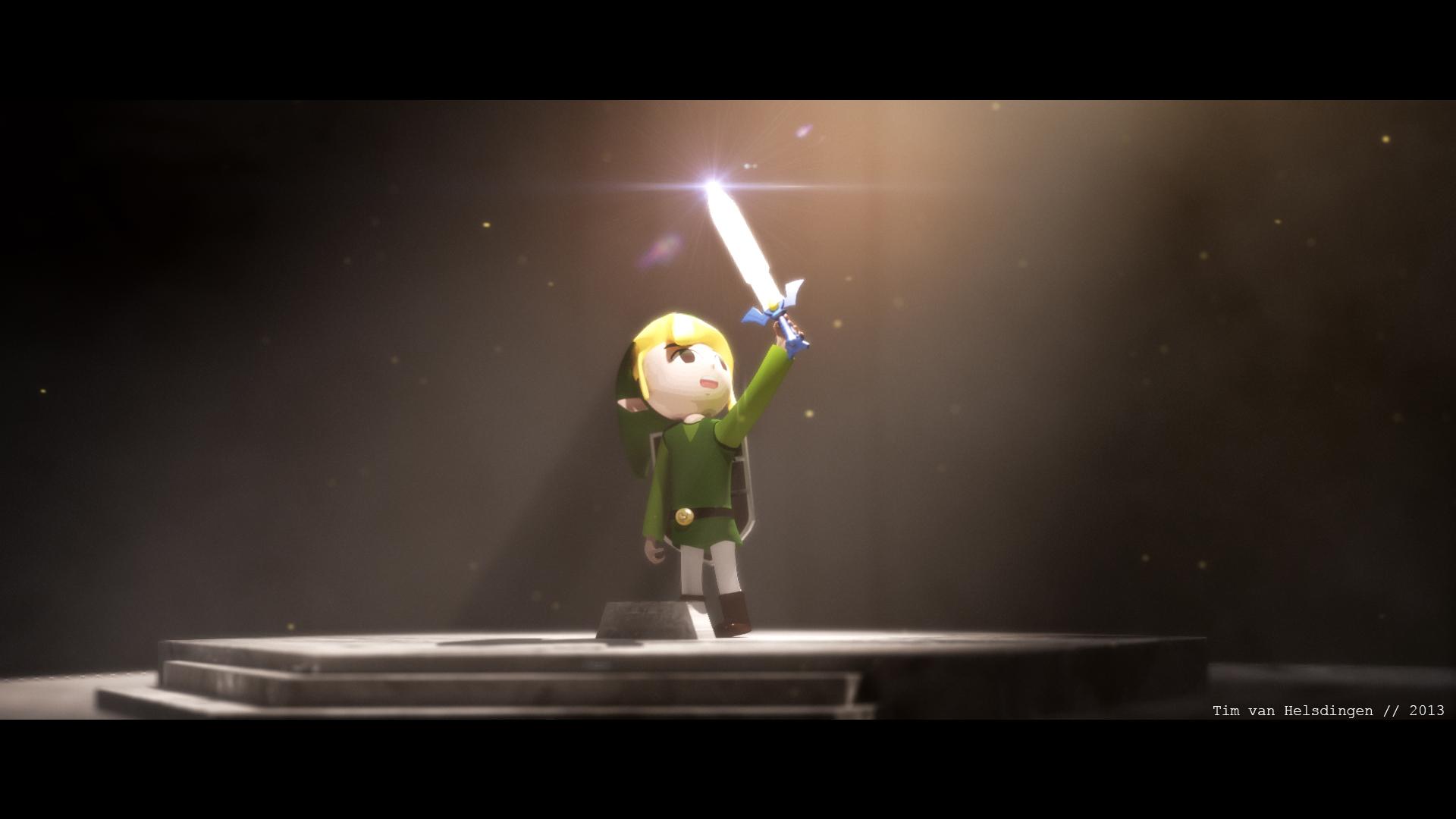 Windwaker-ish Link