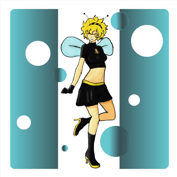 Honey Bee Girl