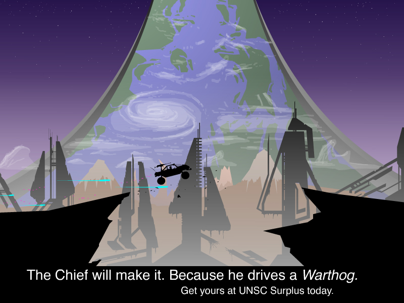 Halo Warthog Ad