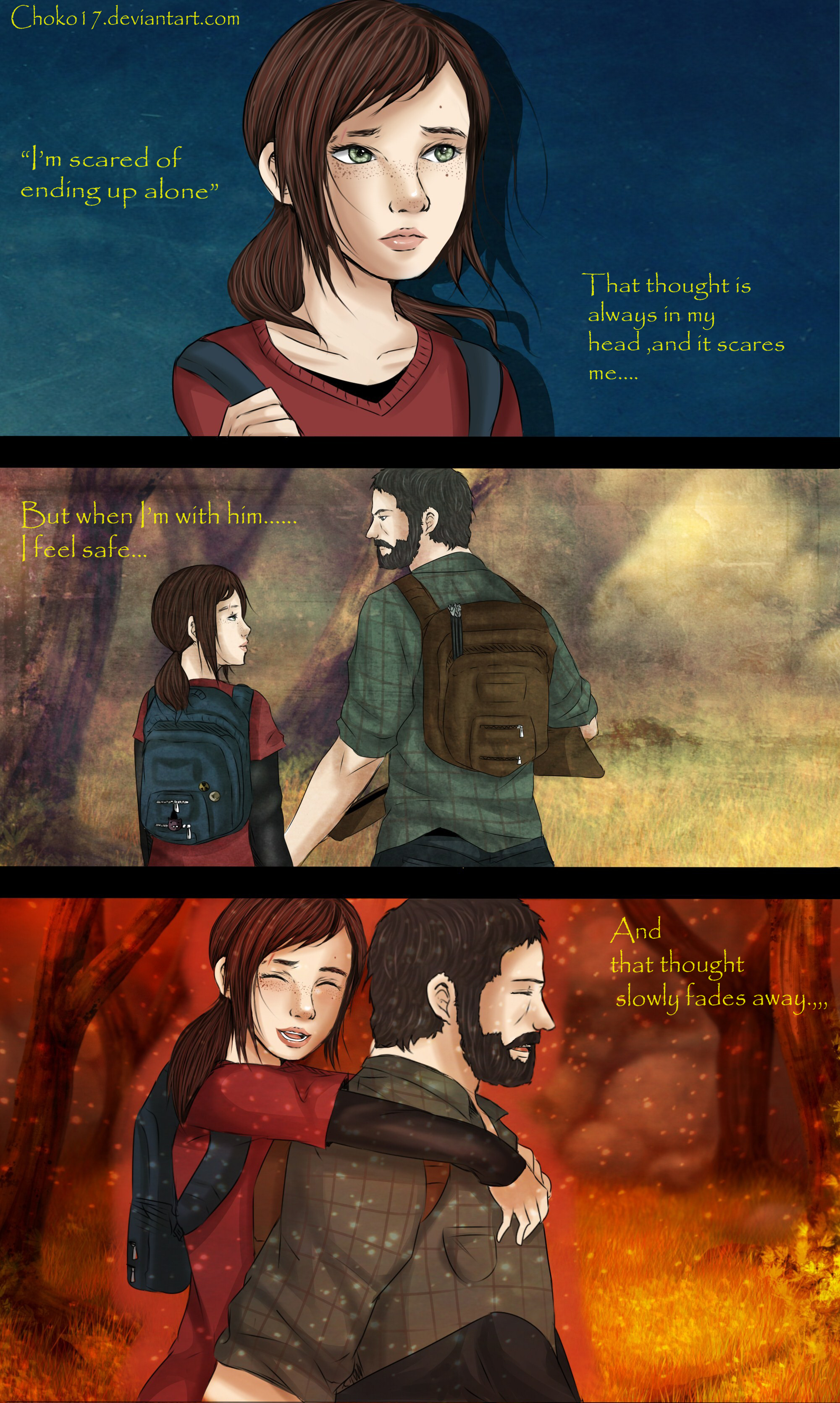 The last of us comic