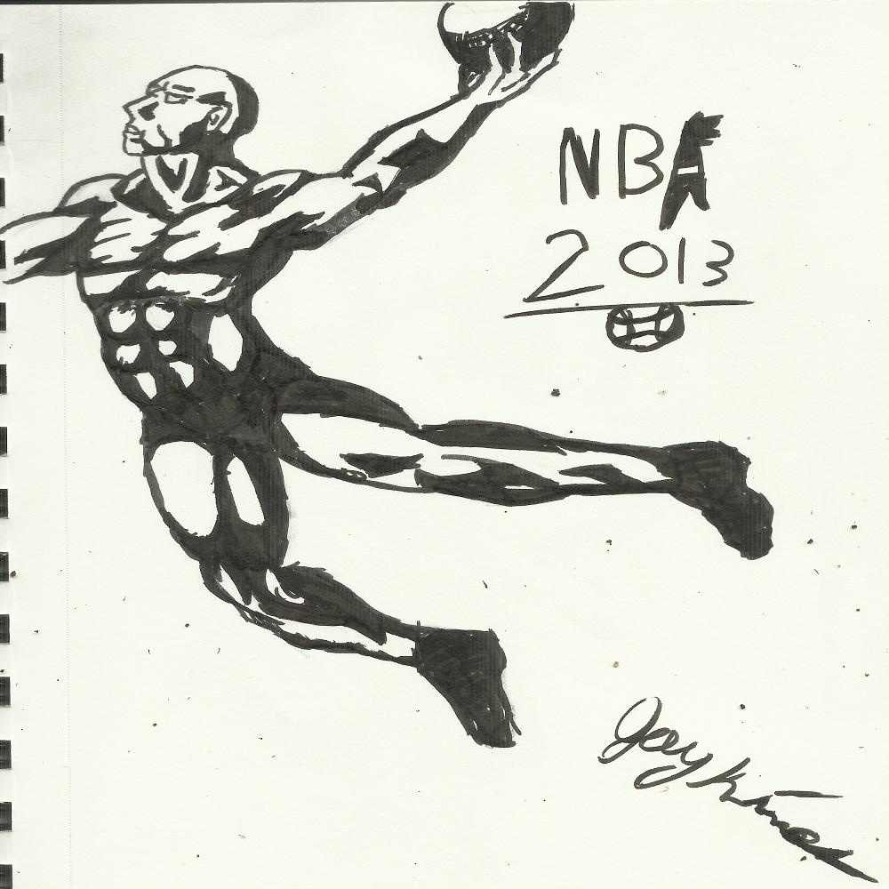 NBA Sketch
