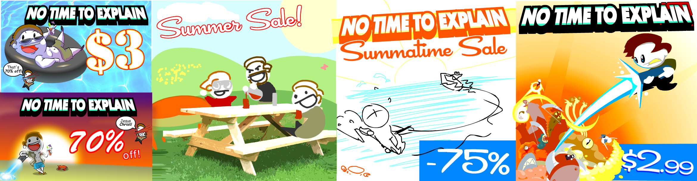 NTTE Summer Sale Art Graveyard