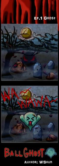 Ball Ghost Comic Ep.1