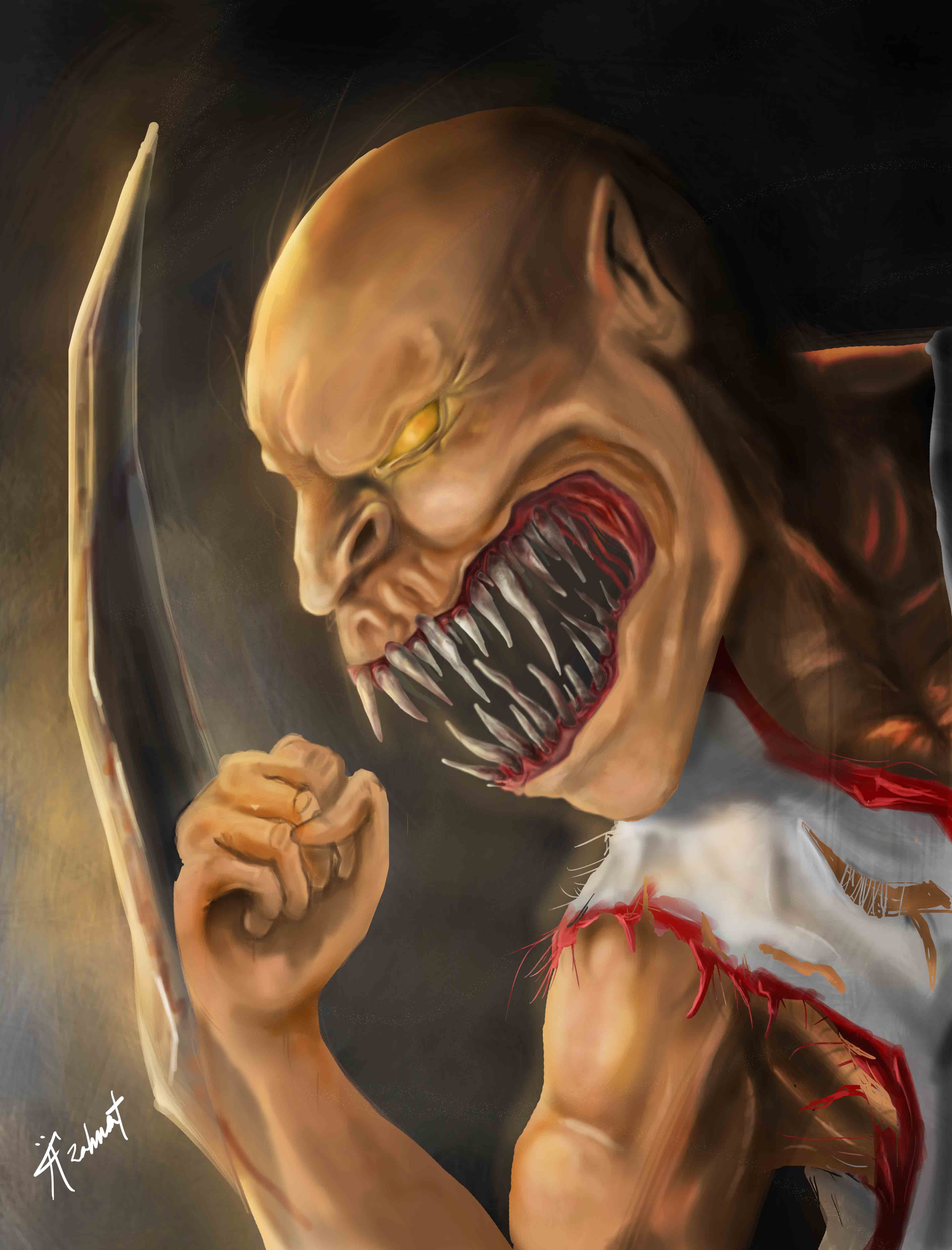 Baraka of Mortal Kombat