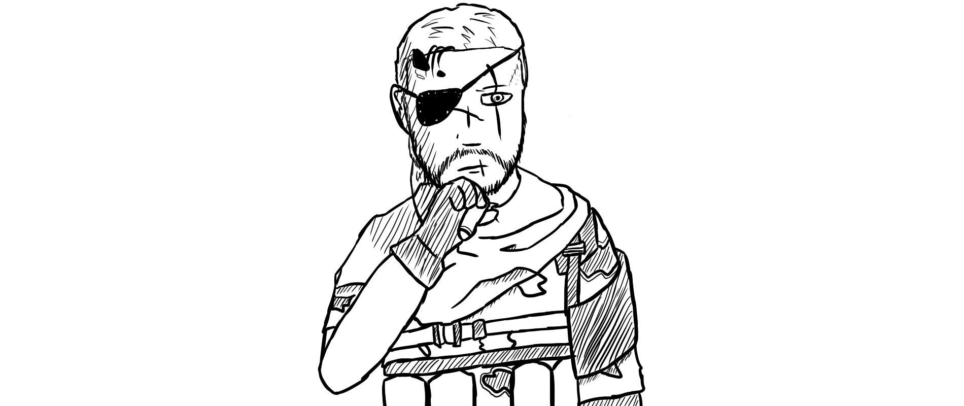 Punished Snake Sketchy Variant