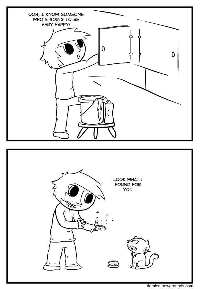 Hug for food?