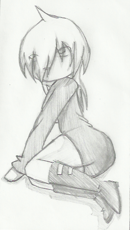 Hand drawn.