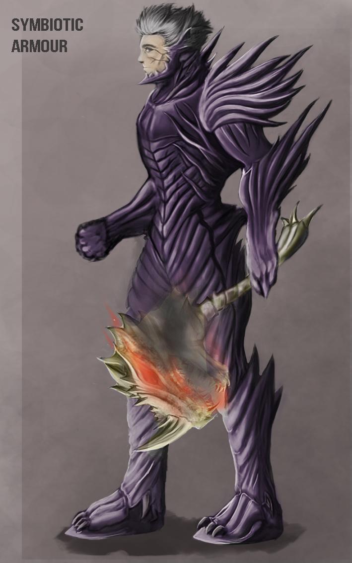 Symbiotic Armour