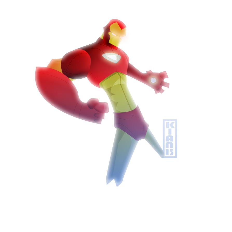 Ironman cartoon