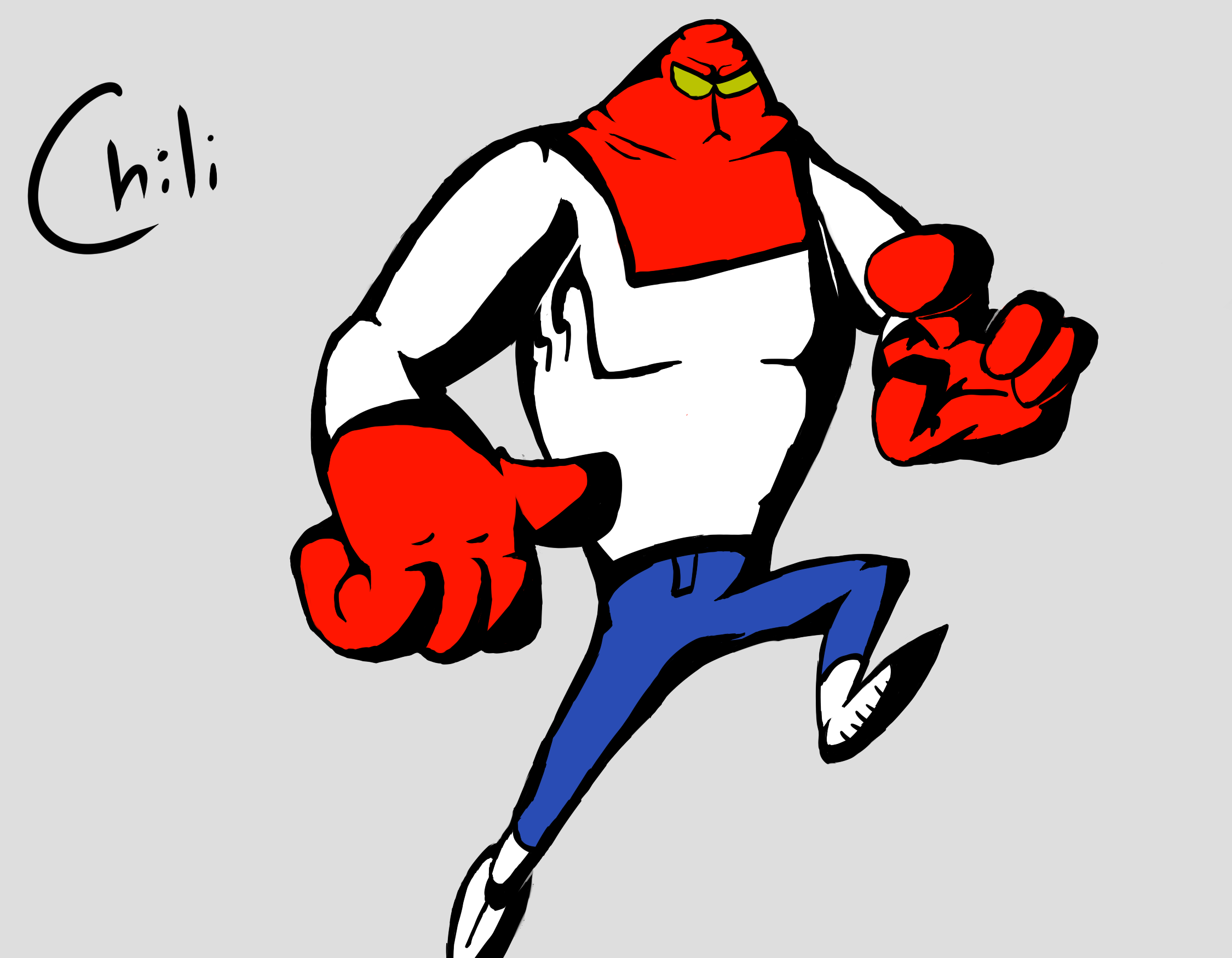 Chili, The Hero of Megalopolis