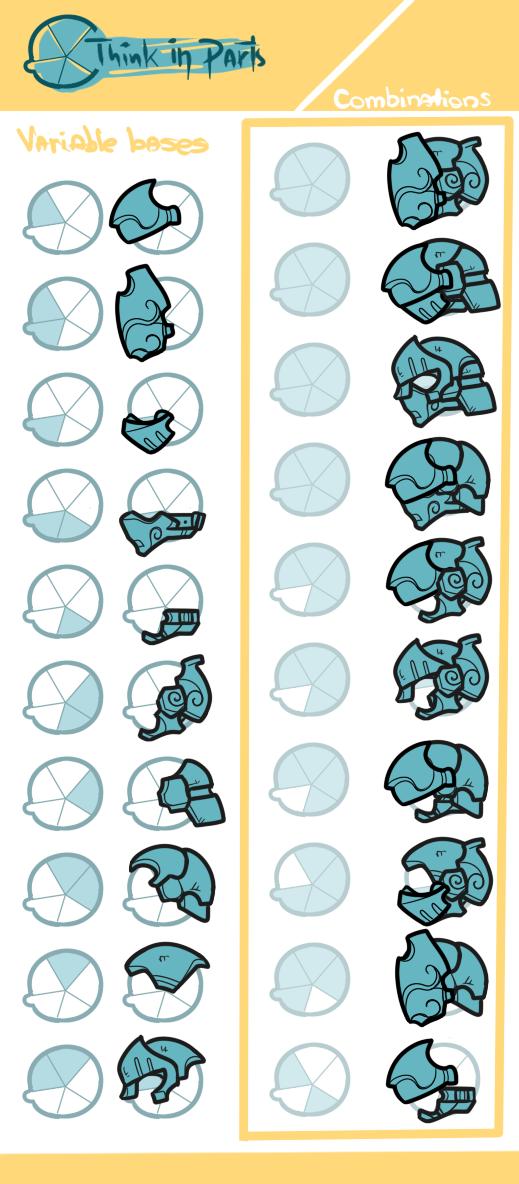 Random Helmet Generation
