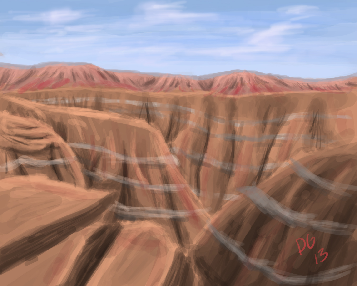 Canyon Speed Paint