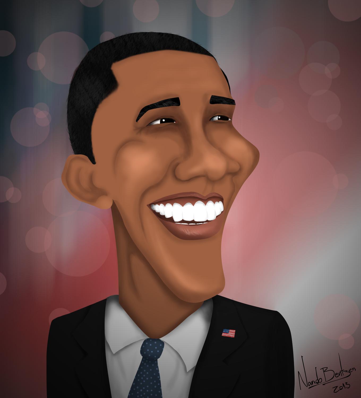 Obama Caricature