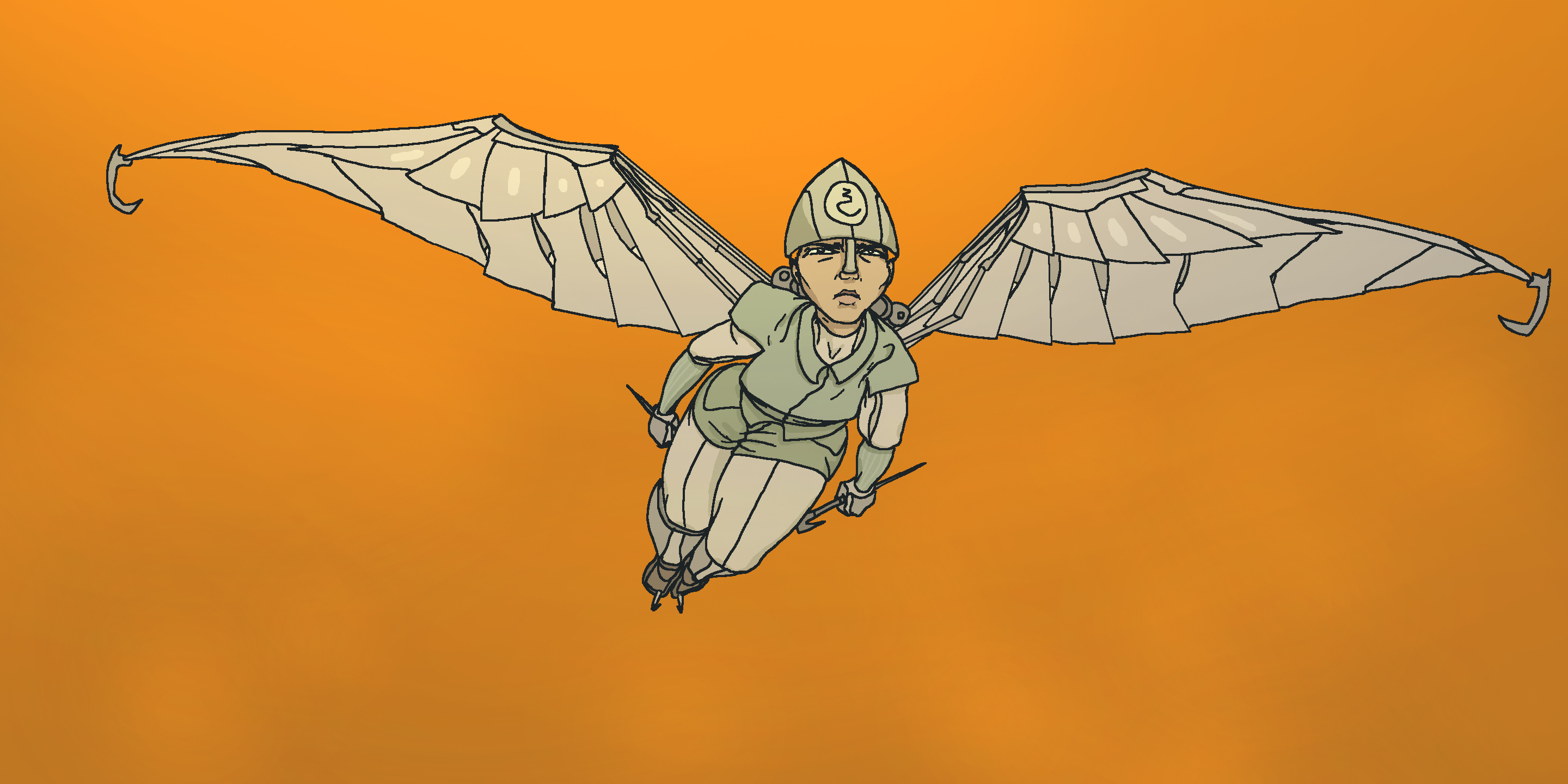 Adri with Wings