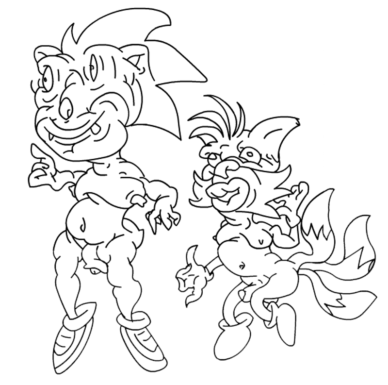 sonic and tailz