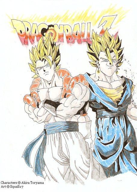 Vegito & Gogeta