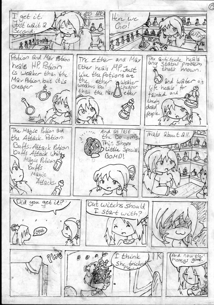 Black and White page 13