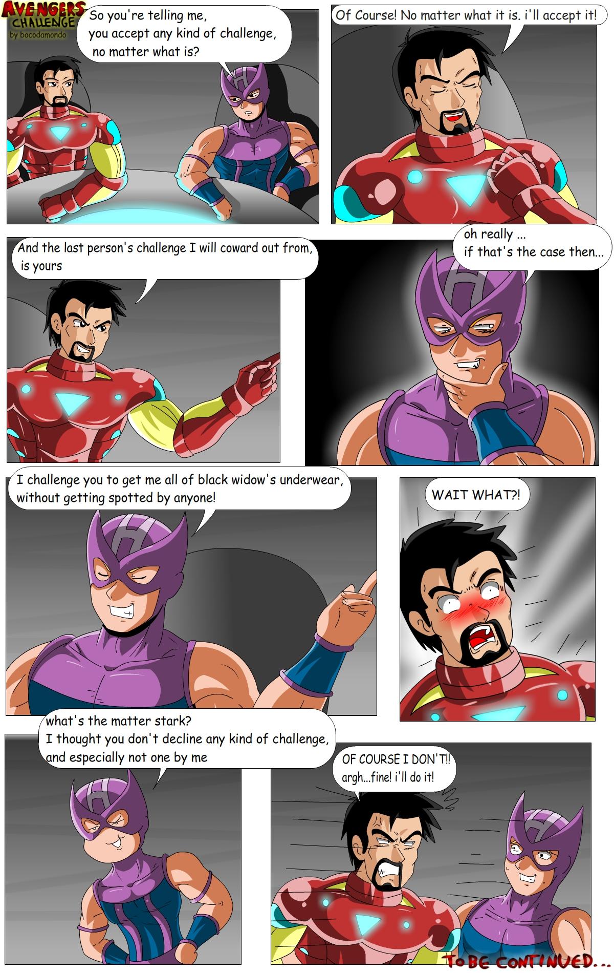 Avengers - Challenge Part 1