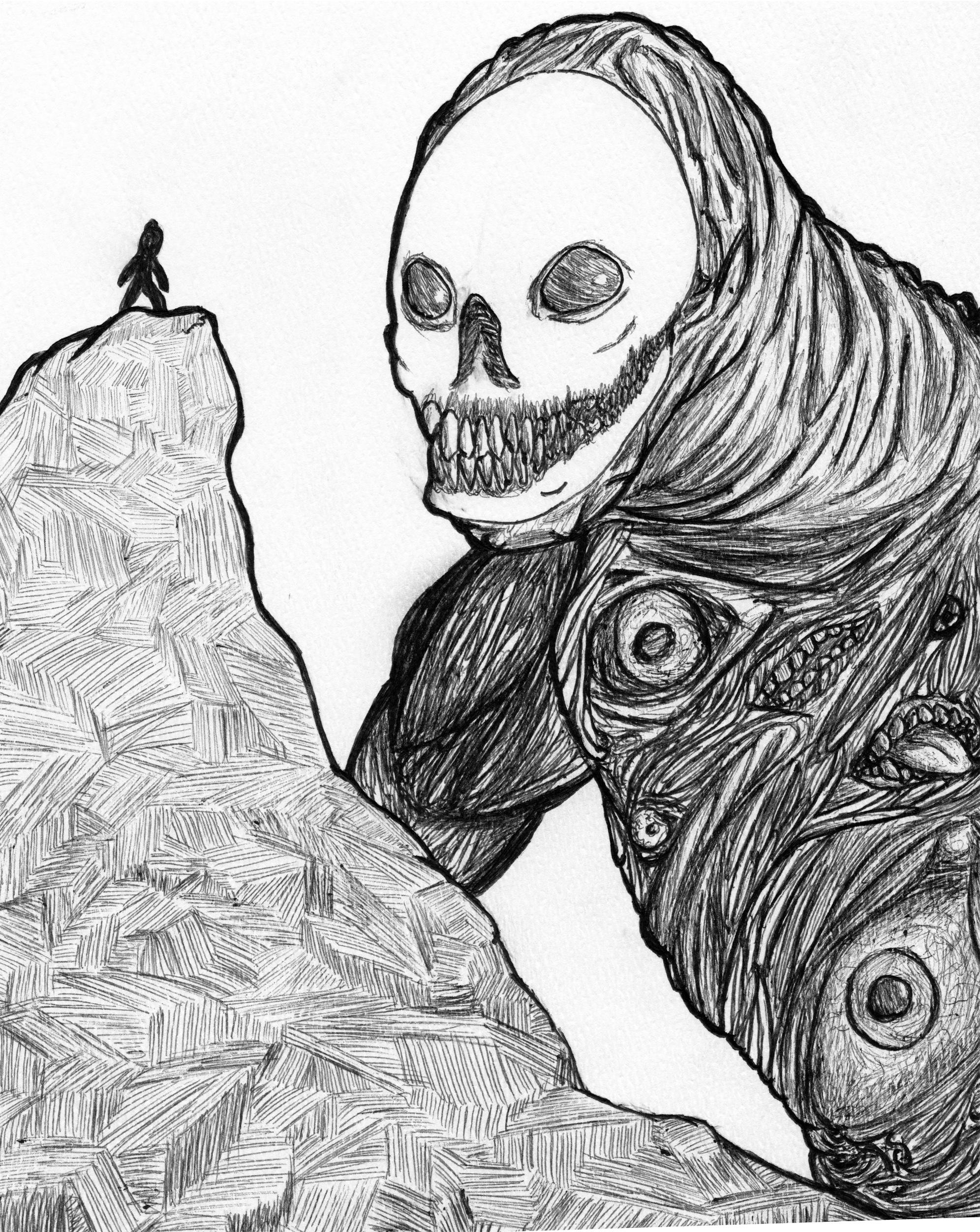Skeleton Man of Nightmares!!!!
