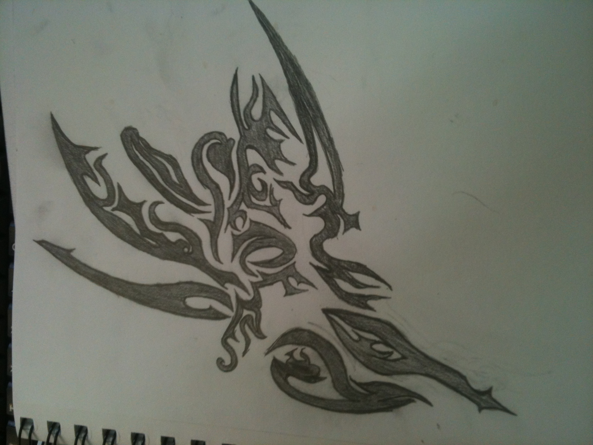 Flower?e tattoo design