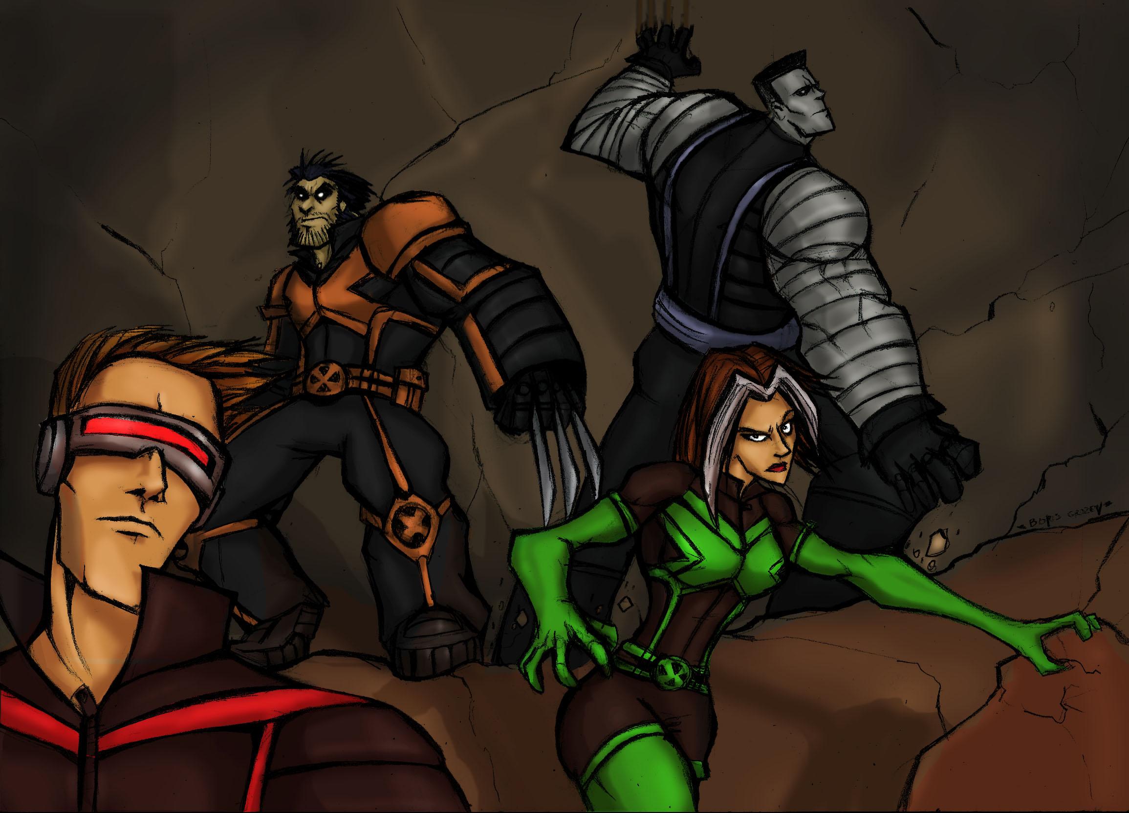 AMAZING X-MEN:Cave ADVENTUR