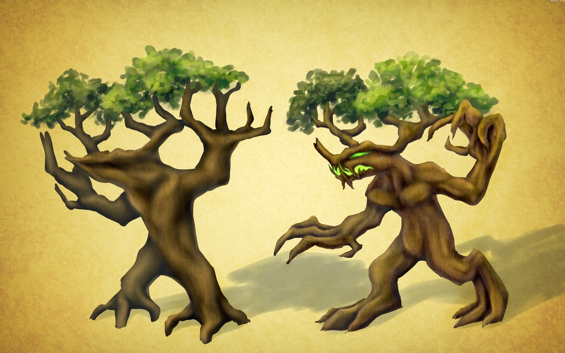 Weretree concept