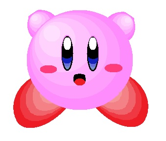 Kirby (using only circles)