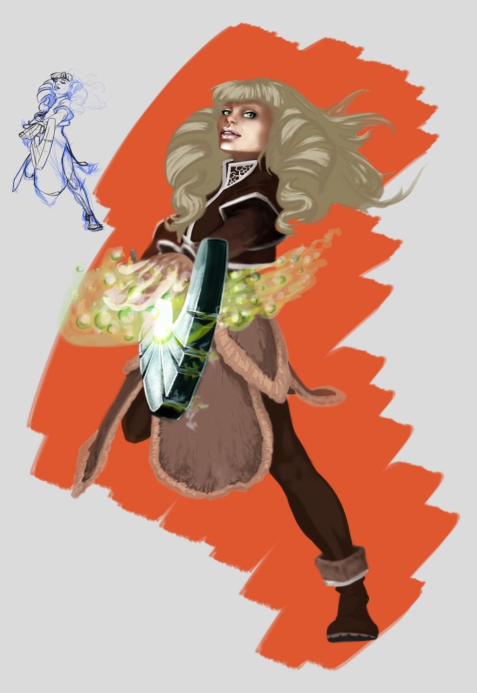 Sorcerer Girl - Healer