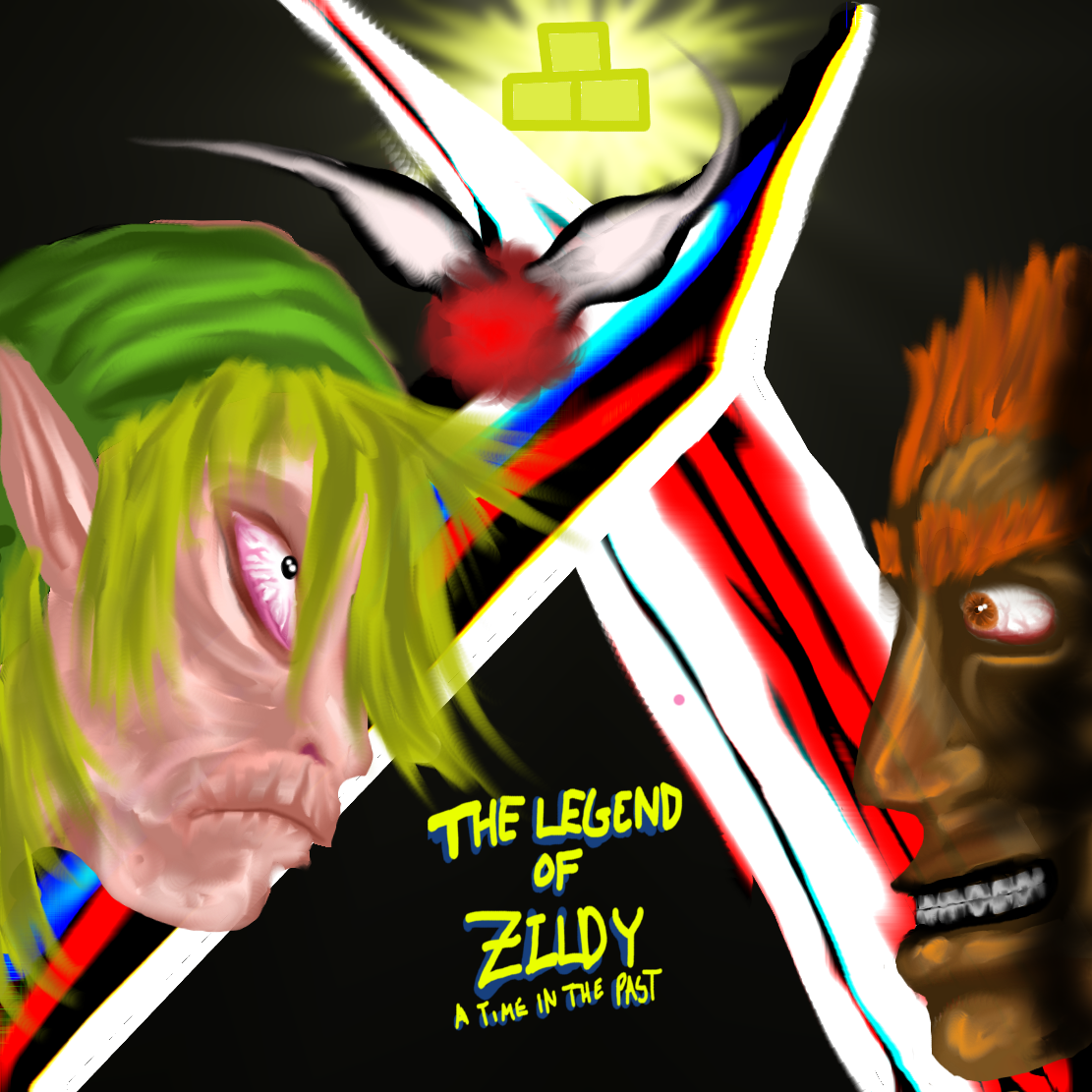 LEGEN OF ZILDY A TIME IN PAST