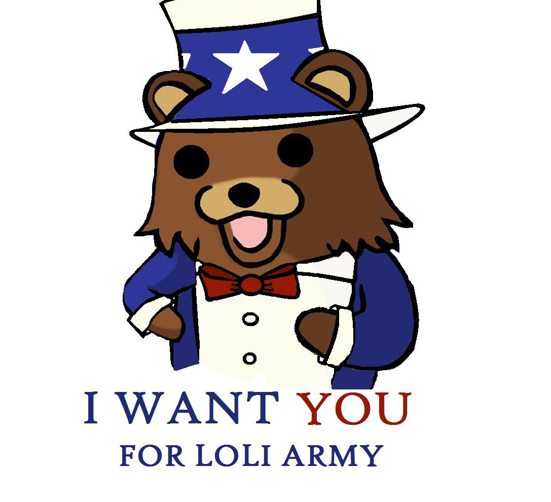 UNCLE PEDO BEAR WANTS YOU!