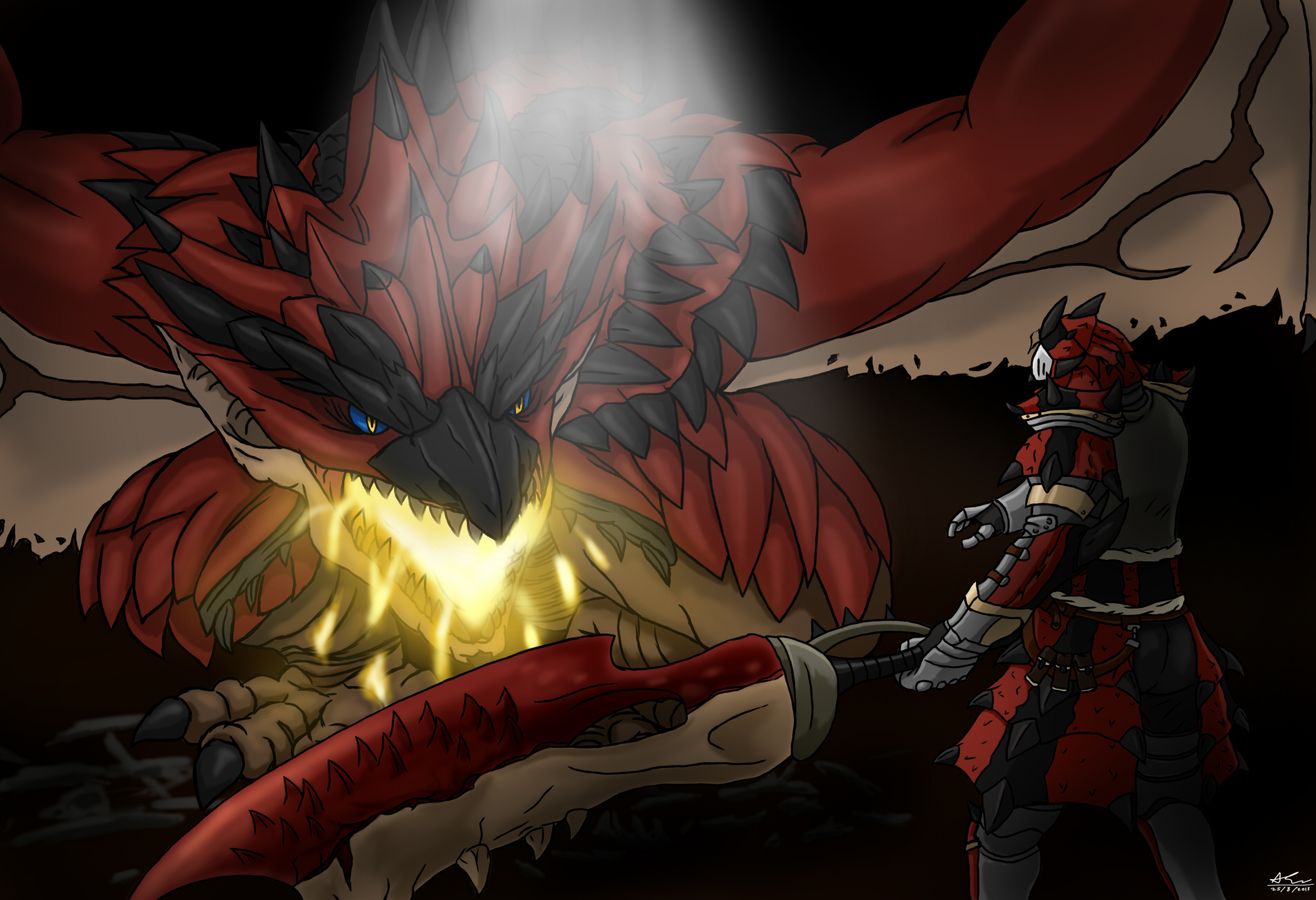 Monster Hunter: Rathalos