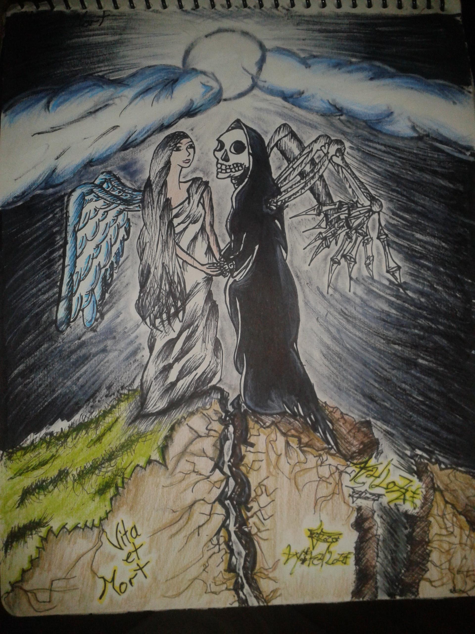 Vid et mort