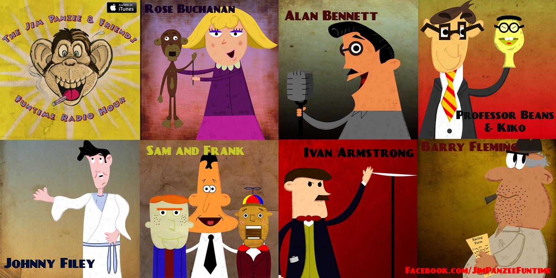 Jim Panzee Cast