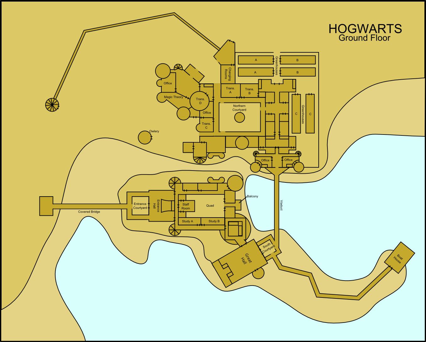 Hogwarts Ground Floor