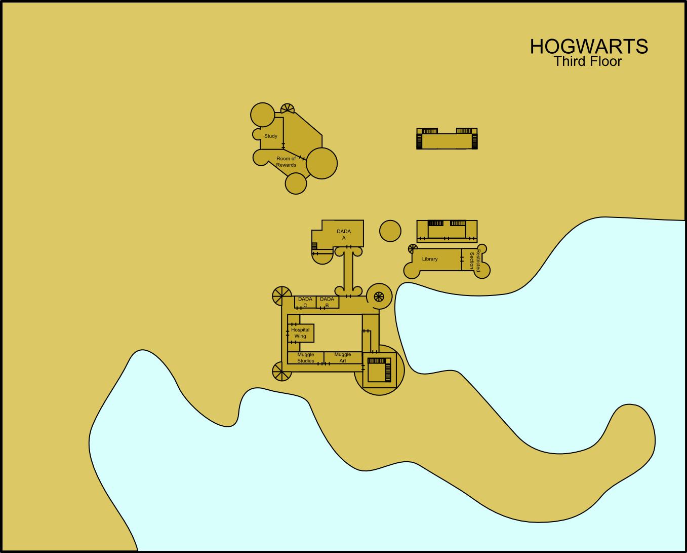 Hogwarts Third Floor