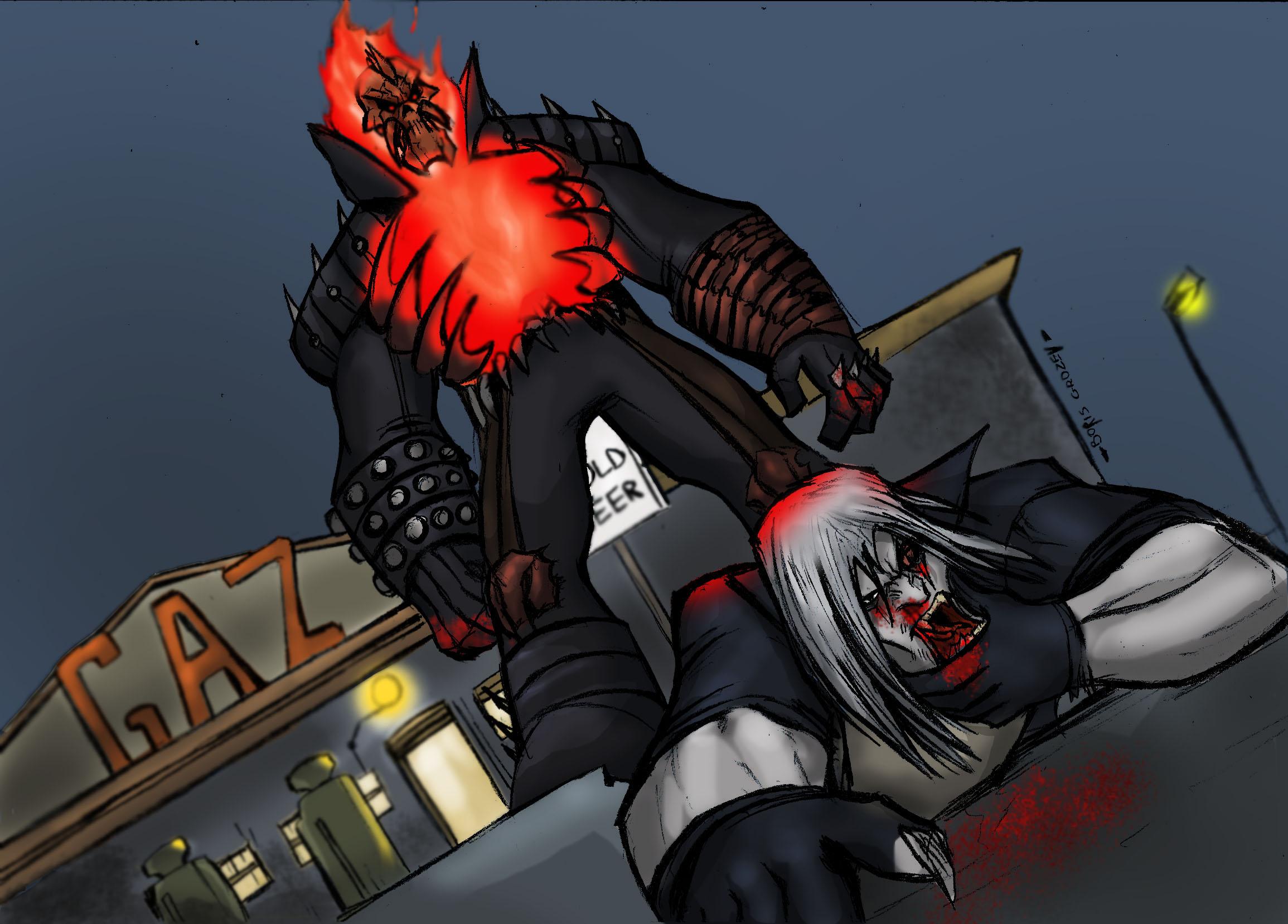 Vengeance VS Blackout