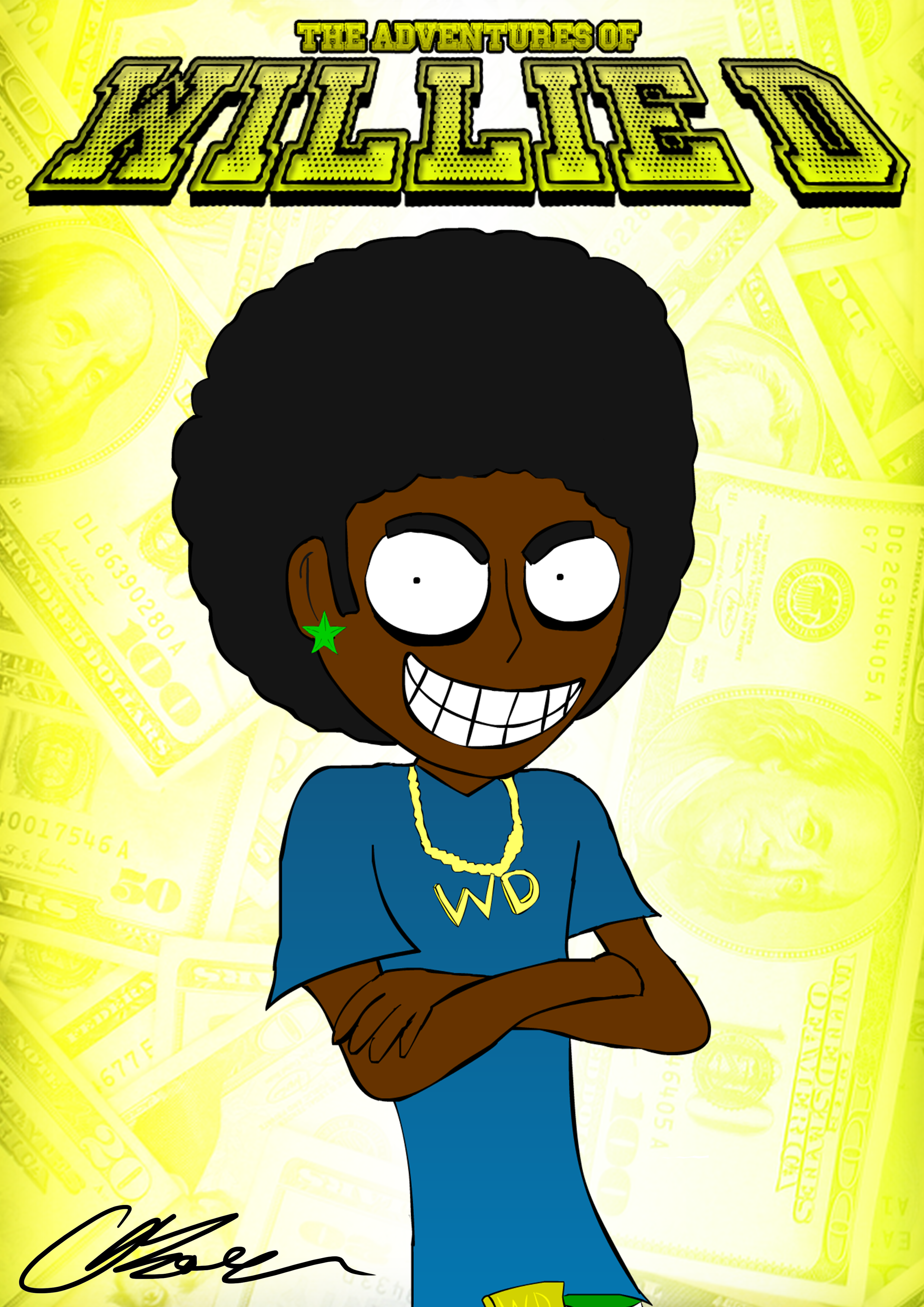 Willie-D Poster