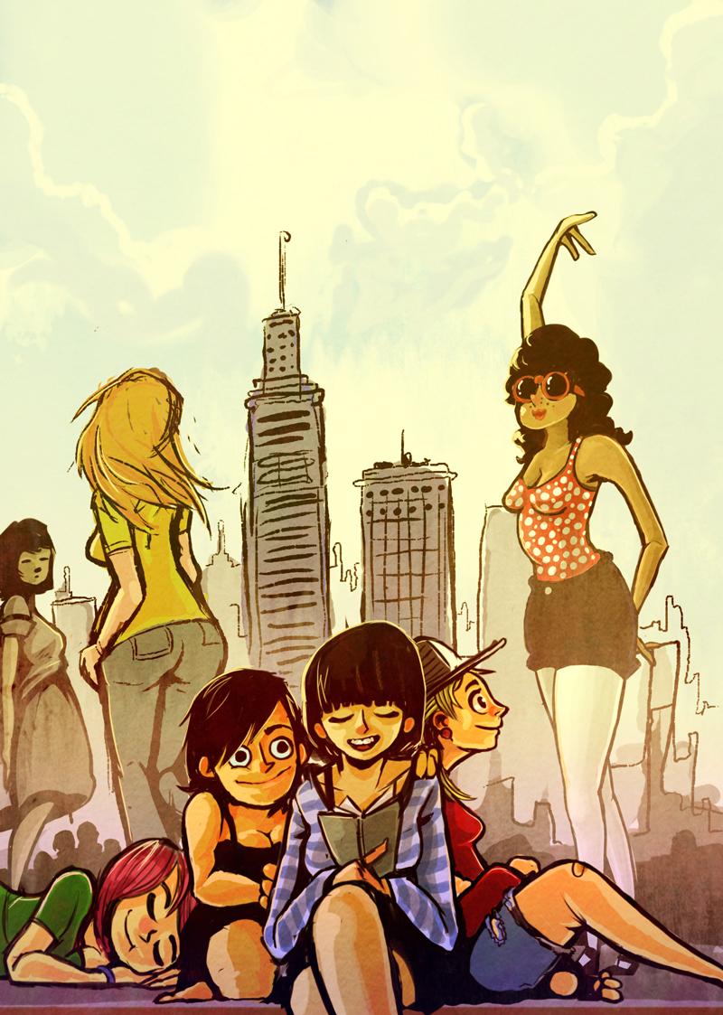 ladies in the city