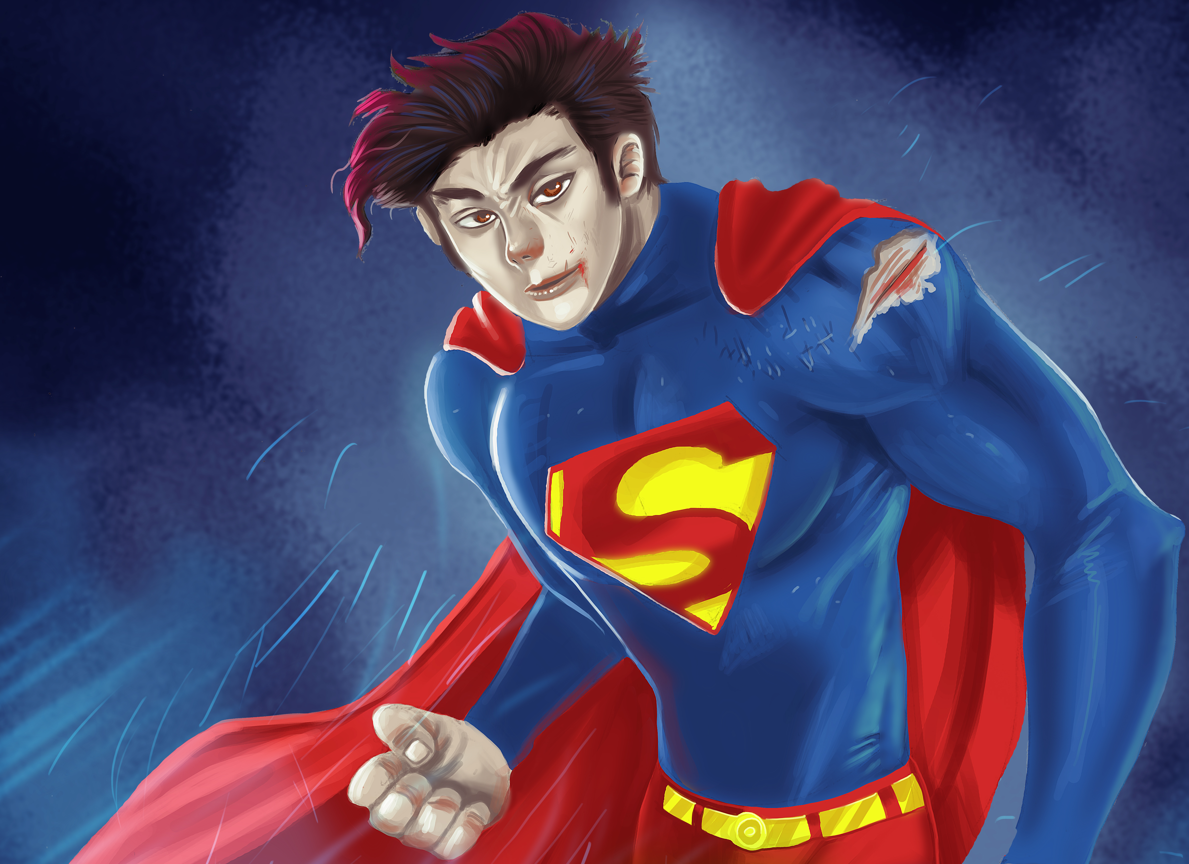 Anime Superman