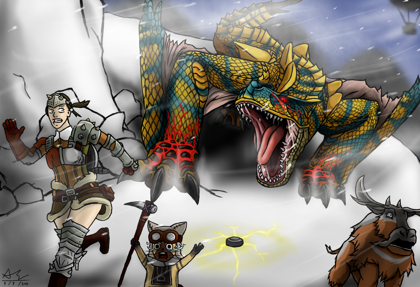 M Tigrex Monster Hunter Tigrex ...