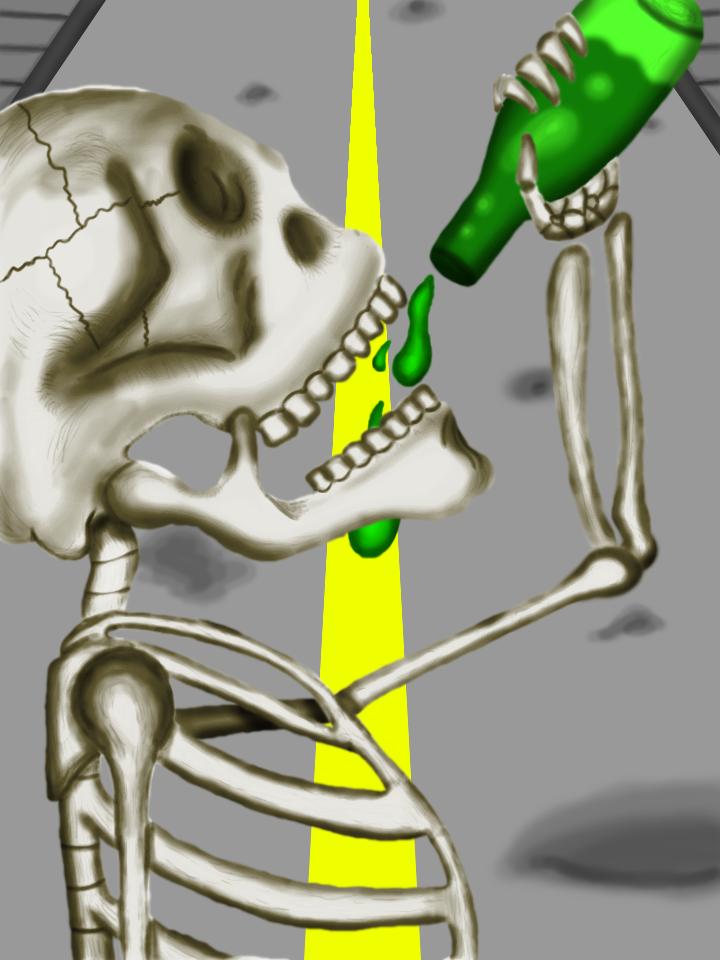 Drinking Skull