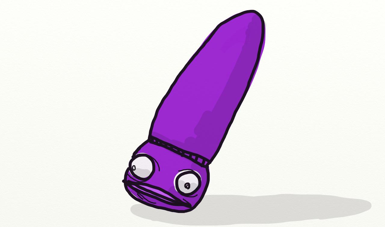 Purple Vibrator