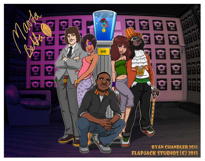 MB with Rap Gang