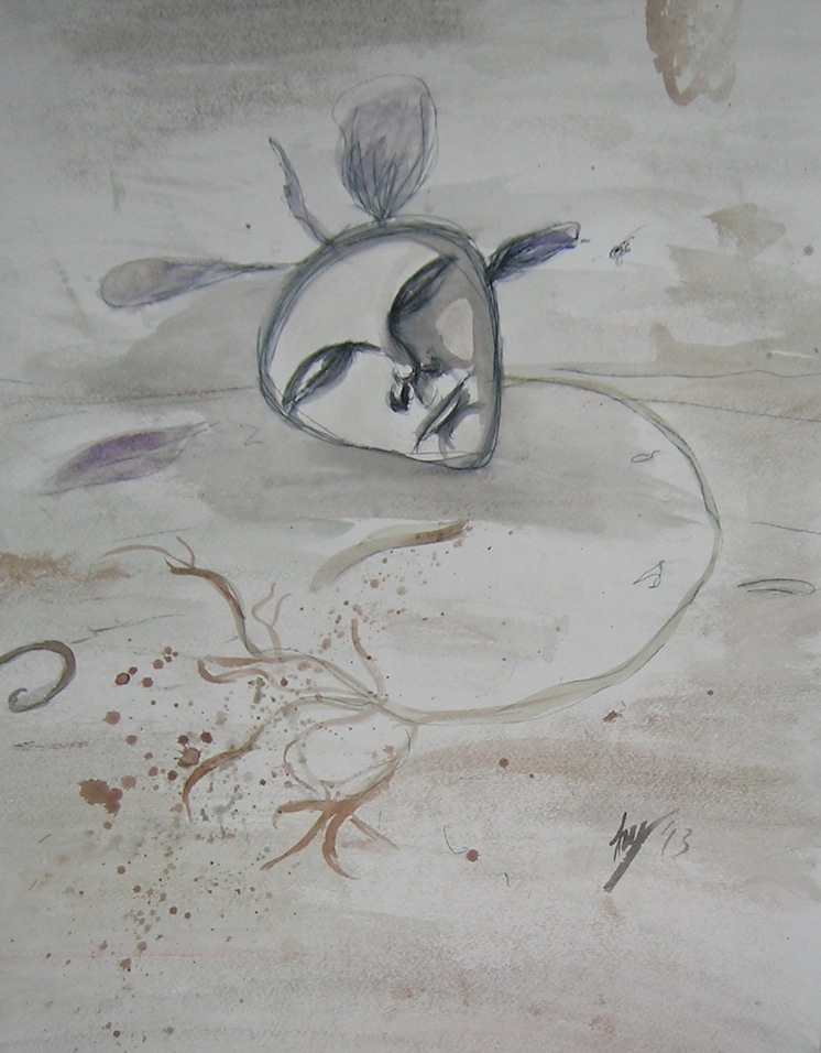 dead petunia