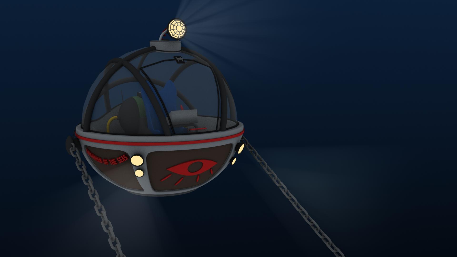 Guardian of the Seas Submarine