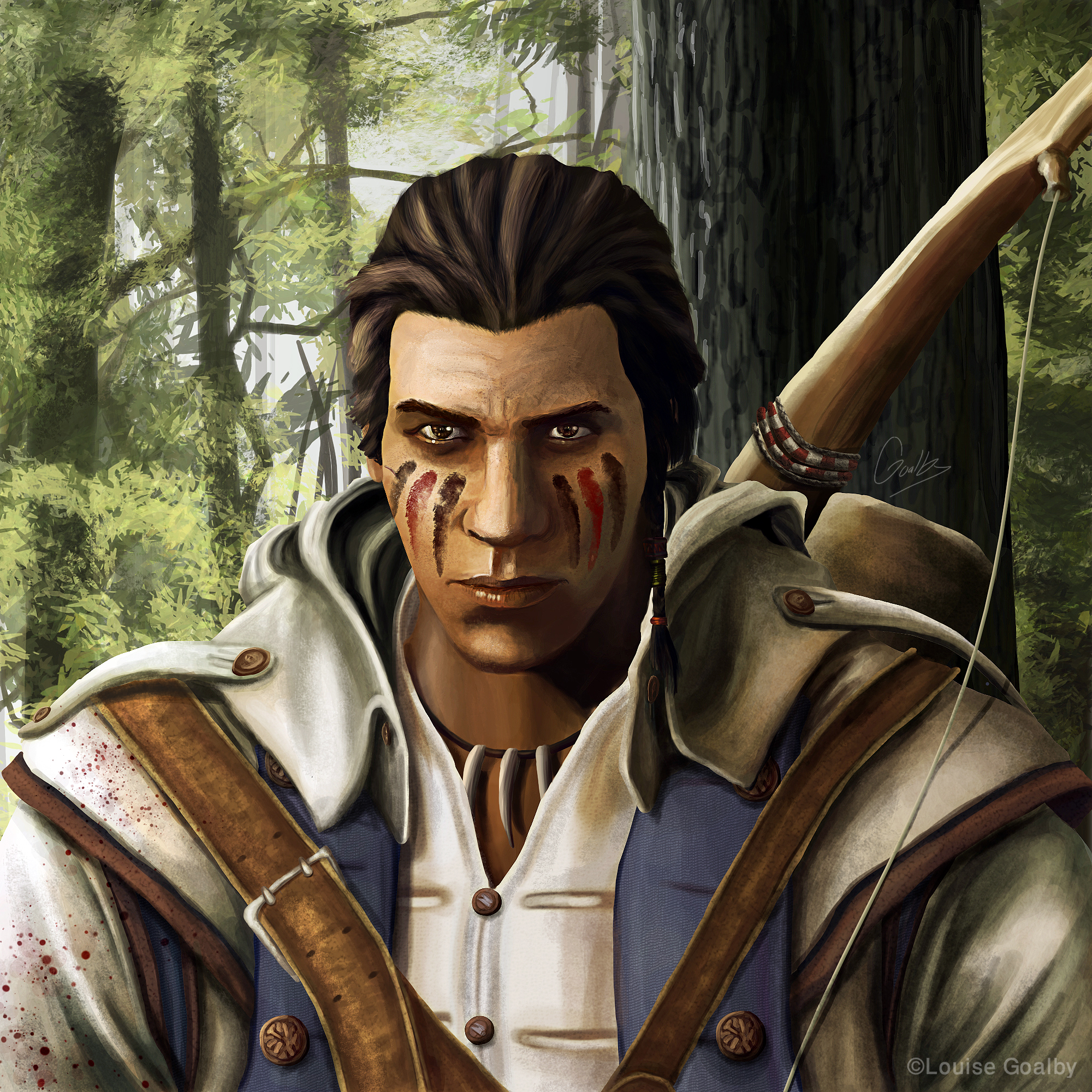 Connor Kenway Assassins Creed By Louise Goalby On Newgrounds